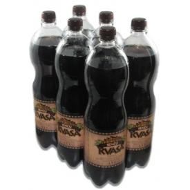 "Nealkoholinis gazuotas giros gėrimas""Senču kvasa""1,5LX6Vnt.(Carbonated soft drink)"