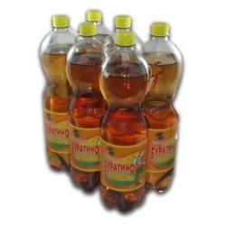 "Gazuotas limonado gėrimas""Buratino""1,5LX6VNT(Carbonated soft drink)"