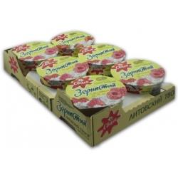 Aviečių skonio grudėta varškė 150gx 6vnt (Cottage cheese with fruit filling)