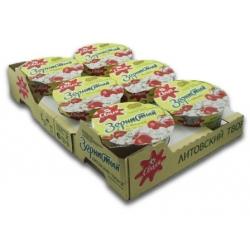 Vyšnių skonio grudėta varškė150g x 6vnt (Cottage cheese with fruit filling)