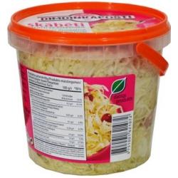 """""""Dimdinkaposti""""  Rauginti kopūstai su spanguolėmis 900g (Sauerkraut with cranberries)"""