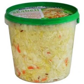 """""""Dimdini"""" Rauginti kopūstai su morkomis 1000g (Sauerkraut with carrot)"""