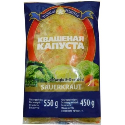 Rauginti kopūstai 550g (Sauerkraut)