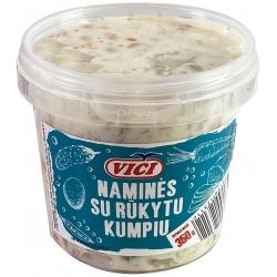 """""""Vici"""" Salotos naminės su rūkytu kumpiu 350g (Salad with smoked ham)"""