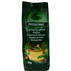 """""""Sauda"""" Garstyčių sėklos 60g (Mustard seeds powder)"""