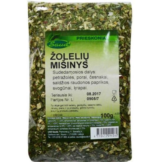 Žolelių mišinys 100g (Dry herbs mix)