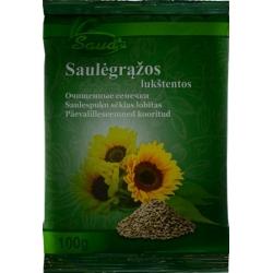 """""""Sauda""""Saulėgrąžos lukštentos 100g (sunflower seeds)"""