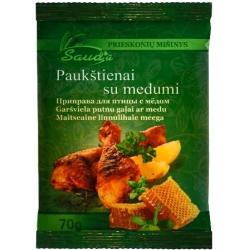 """""""Sauda"""" Paukštienai su medumi 70g (Spice mixture chicken with honey)"""