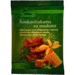 """Sauda"" Šonkauliukams su medumi 70g (Spices mixture for ribs with honey)"