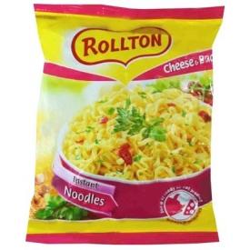"""""""Rollton"""" Sūrio ir kumpio skonio makaronų sriuba 60g (Cheese and bacon noodles)"""