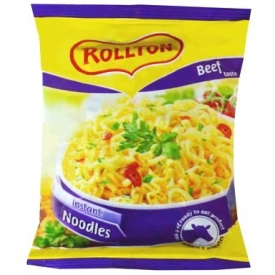 """""""Rollton"""" Jautienos skonio makaronai 60g (Beef taste)"""