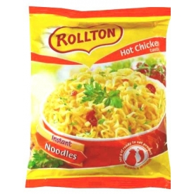 """Rollton"" Aštrios vištienos skonio makaronų sriuba 60g (Hot chicken taste)"