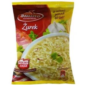 """Amino"" Rūgštus rugiai sriuba 65g (Instant sour rye soup with noodles)"