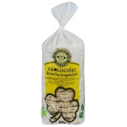 """""""Ustukių malūnas"""" Ekologiški kviečių trapučiai 100g (Organic wheat crackers)"""