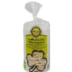 """""""Ustukių malūnas"""" Ekologiški ryžių trapučiai 100g (Organic rice crackers)"""