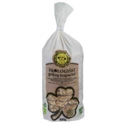 """""""Ustukių malūnas"""" Ekologiški grikių trapučiai 100g (Organic buckwheat crackers)"""