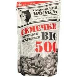 """""""Tambovski volk"""" Skrudintos juodos saulėgražos 500g (roasted black sunflowers seed)"""