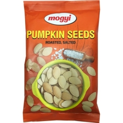 Skrudinti sūdyti moliūgų grūdai 150g(Roasted salted pumpkin seeds)