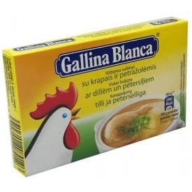 """Vištienos sultinys 80g """"Gallina Blanca""""(Chicken Broth)"""