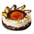 "Apvalus tortas""Karamelinis persikinis"" (Caramel&peach)"