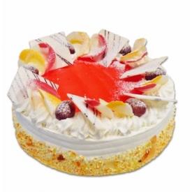 """Tortas""""Vanilinis su vaisiais"""""""