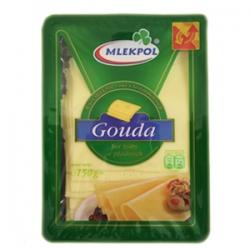 "Pjaustytas sūris 150g""Gauda"" (cheese sliced)"
