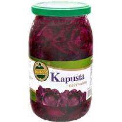 Marinuotų raudonų kopūstų salotos 900g (Red cabbage salad0