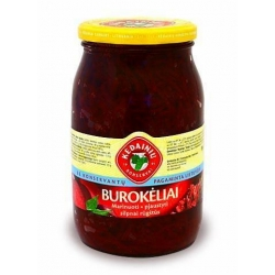 """KKF"" Burokėliai marinuoti 900g (Pickled red beetroots)"