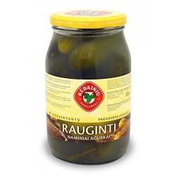 """""""KKF"""" Rauginti naminiai agurkai 850g (Fermented cucumbers)"""