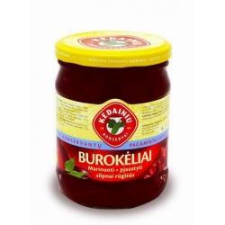 """KKF"" Burokėliai marinuoti 480g (Pickled red beetroots)"