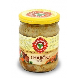 """""""KKF"""" Charčio sriuba 480g (Xarcho soup with meat)"""