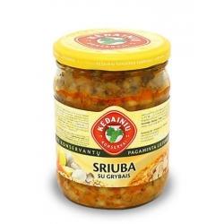 """""""KKF"""" Sriuba su grybais 480g (Soup with mushrooms)"""