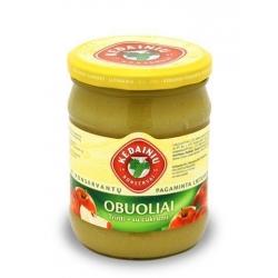 """""""KKF"""" Obuoliai trinti, su cukrumi 540g (Grated apples with sugar)"""