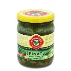 KKF Špinatų sriuba su rūkyta šonine 480g (Spinach soup with smoked flank)