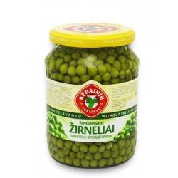 """KKF"" Žirneliai konservuoti 690g (Preserve green peas)"