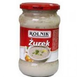 """Namų darbo sriubos koncentratas""""Žurek"""" 340g (Home_made sour soup)"""