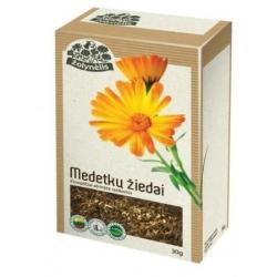 "Medetkų žiedai 100% svoris 30g  ""Žolynėlis""(Calendula blossoms)"