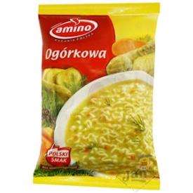 """Amino noodles with cucumber """"Ogorkowa"""" 67g"""