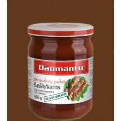 """""""Daumantu""""  Klasikinis šašlykų padažas 500g (Tomato sauce """"For shashlik"""")"""