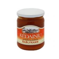 """""""KKF"""" Šašlykams pomidorų padažas 480g (Tomato sauce for shashliks)"""