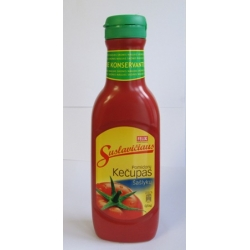 """Kechup""""Suslavičiaus""""500g (Pomidoru kečupas Šašlykų)"""