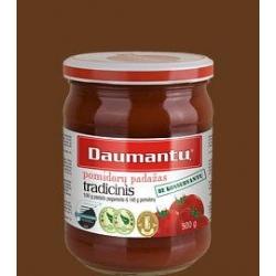"""""""Daumantų"""" Pomidorų padažas """"Tradicinis""""(Traditional tomato sauce) 500g"""