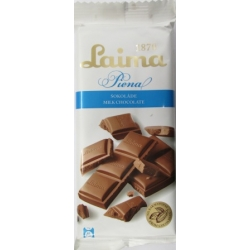"""Pieniškas šokoladas""""Laima""""(Milk chocolate)100g"""