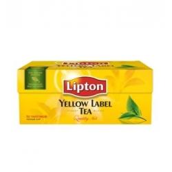 """Juoda arbata""""Lipton"""" 25 pakeliai (Yellow label tea)"""