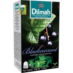"""""""Dilmah"""" Juodųjų serbentų arbata pakeliais 20pk 30g (Blackcurrant tea)"""