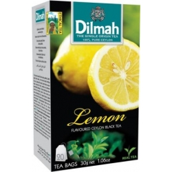 """""""Dilmah"""" Citrinų arbata pakeliais 20pk 30g (Lemon tea)"""
