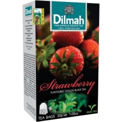 """Dilmah"" Braškių arbata pakeliais 20pk 30g (Strawberry tea)"