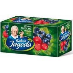 """""""Grandma's tea"""" Juodūjų serbentų ir spanguolių arbata 40g (Blackcurrant and cranberry)"""