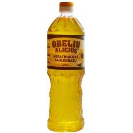 """""""Obelių"""" Nerafinuotas saulėgražų aliejus 0.9L (Unrefined sunflower oil)"""