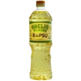 """Obelių"" rapsų aliejus 0.9L (Refined rapeseed oil)"
